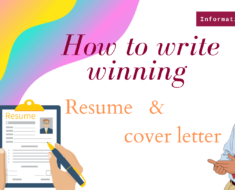 How to Write a Good Resume & an Amazing Cover Letter