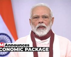 Prime Minister Narendra Modi announced 20 Lakh crores Economic Package
